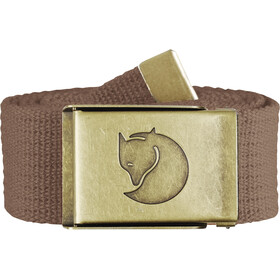 Fjällräven Canvas Messing Riem 4 cm, dark sand